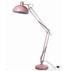 Matt Pink Extra Large Classic Desk Style Floor Lamp