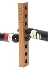 Besp-Oak Vancouver Petite Wall Wine Rack