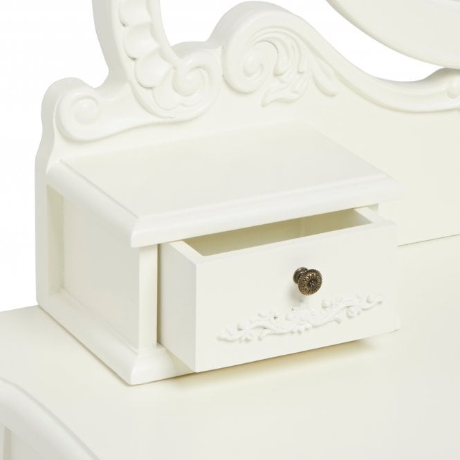LPD French Dressing Table Set - White
