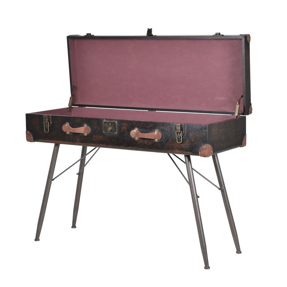 Trunk Console Table