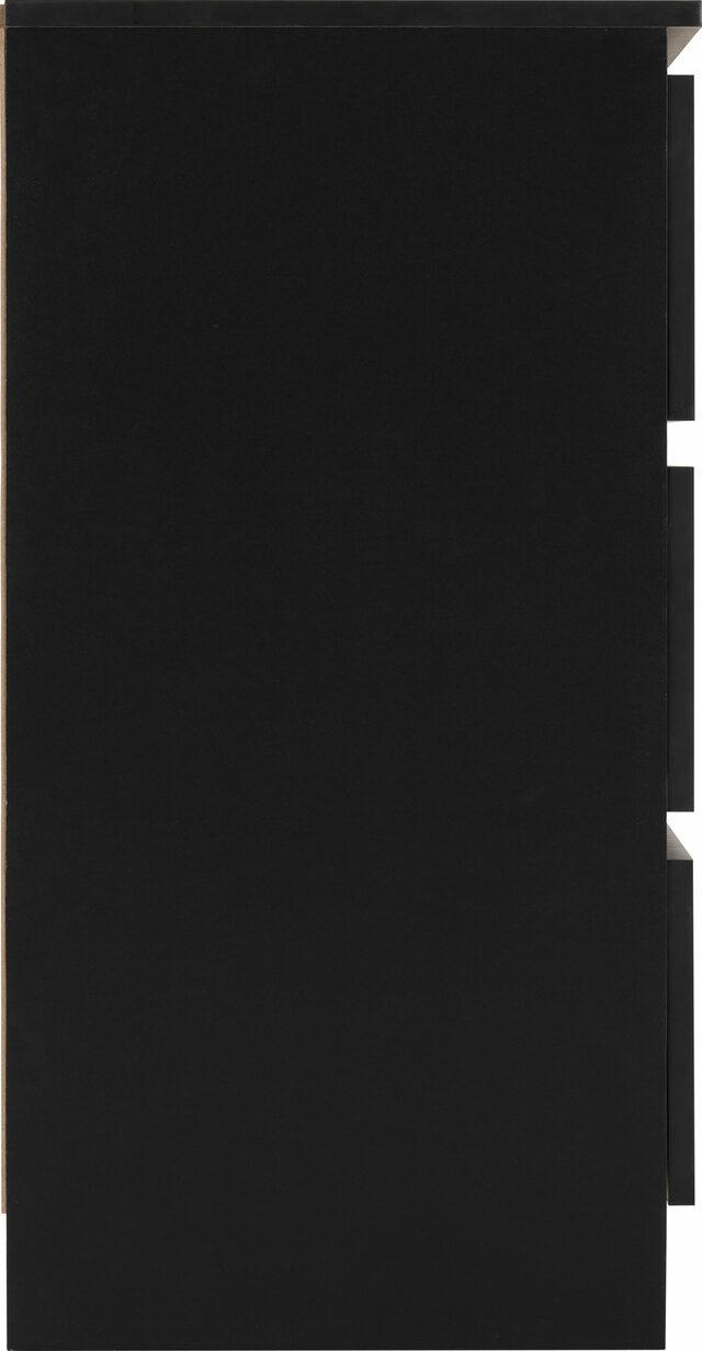 Seconique Malvern Black 6 Drawer Chest