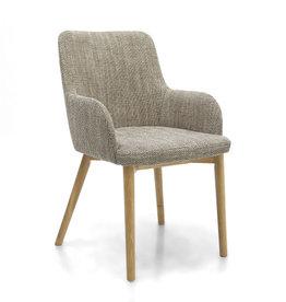 Shankar Sidcup Tweed Oatmeal Dining Chair