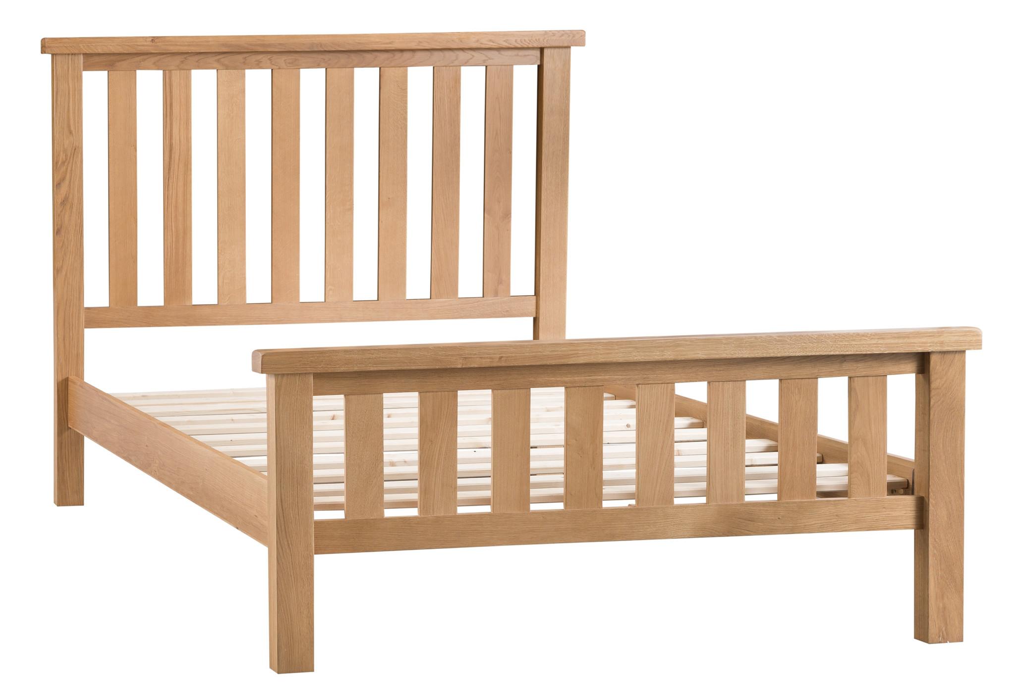 Essentials Oak Bed - King Size