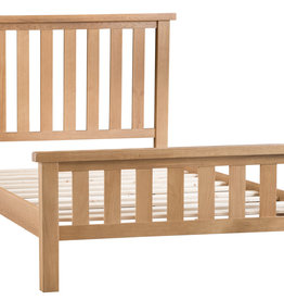 Essentials Oak Super King Size Bed