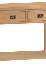 Essentials Oak Medium Console Table