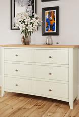 Essentials Painted 6 Drawer Chest - White