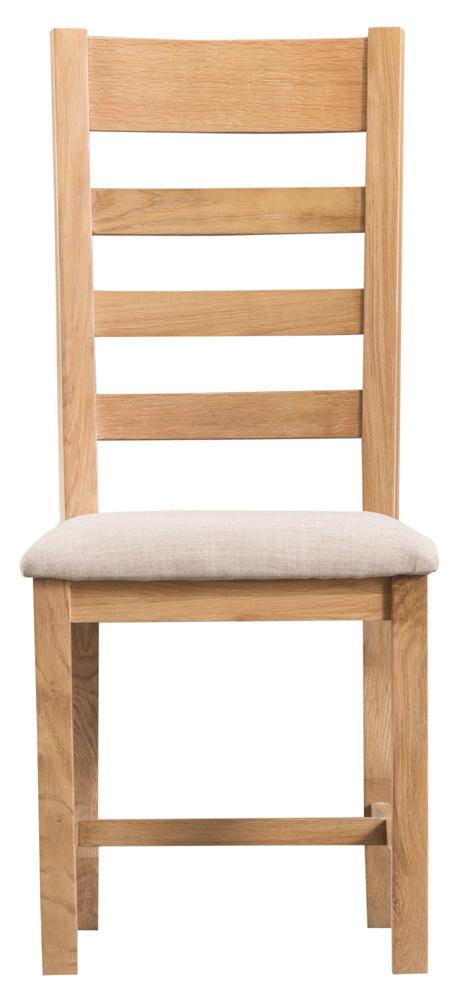 Essentials Oak Ladder Back Chair