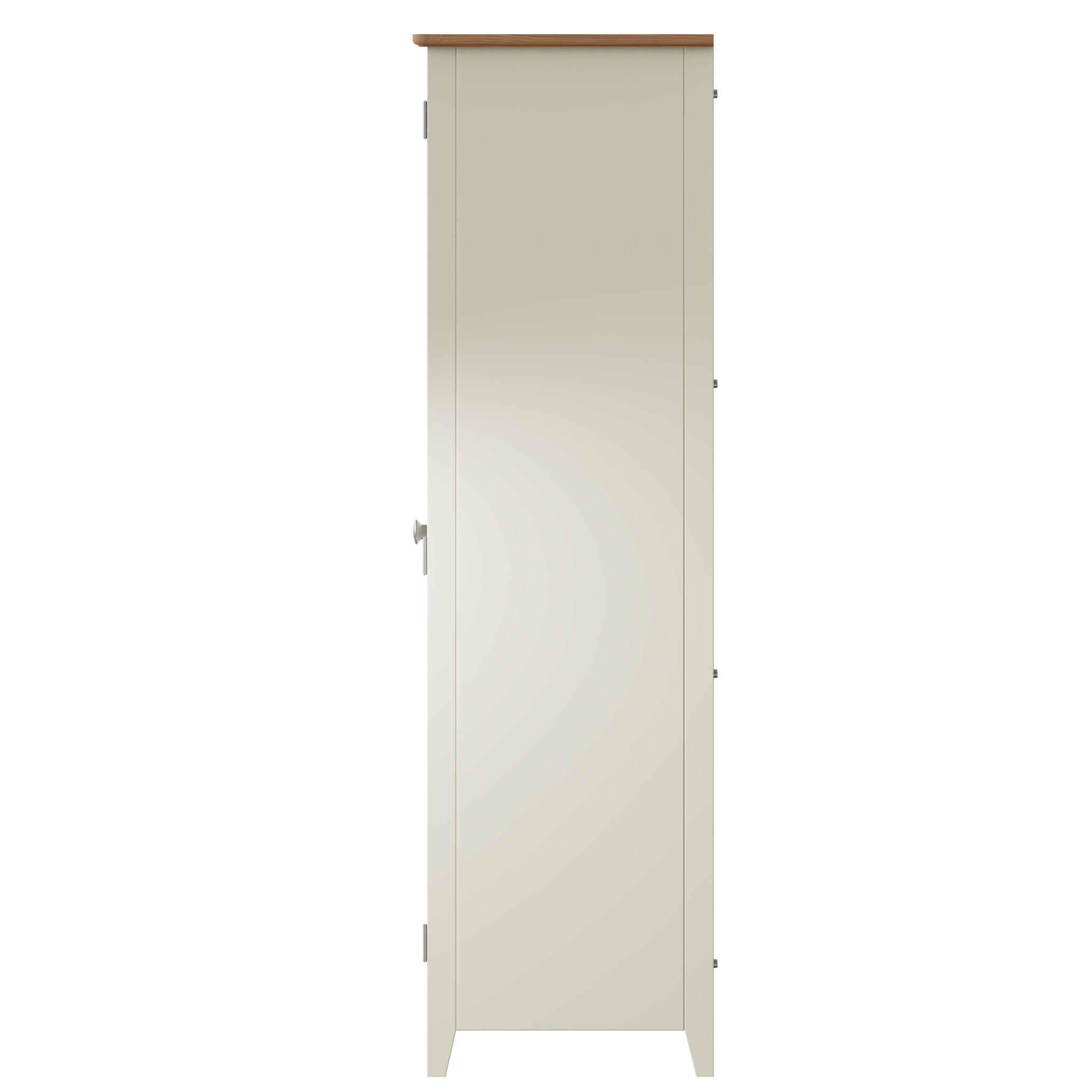 Essentials Painted Full Hanging Wardrobe - White