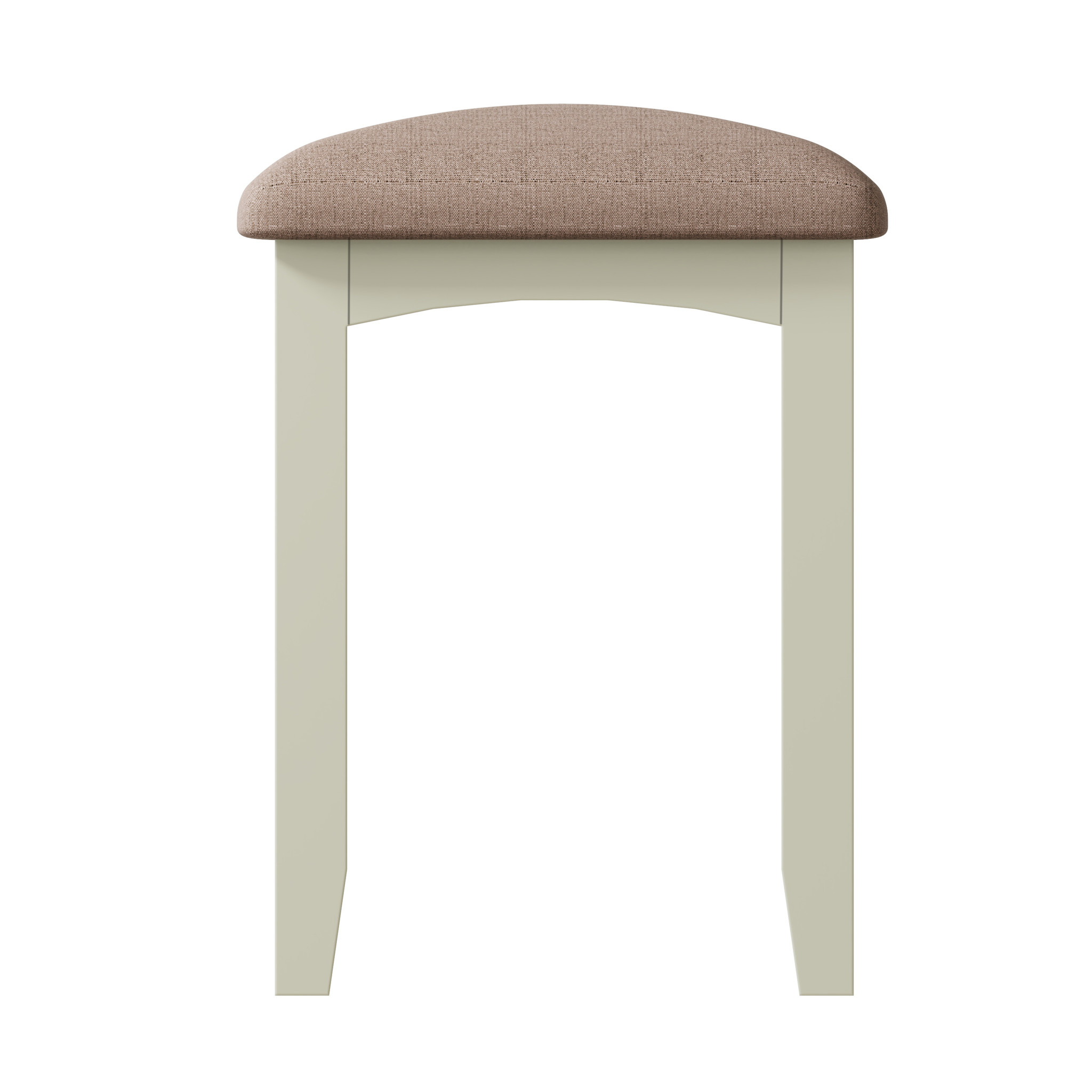 Essentials Painted Stool - White
