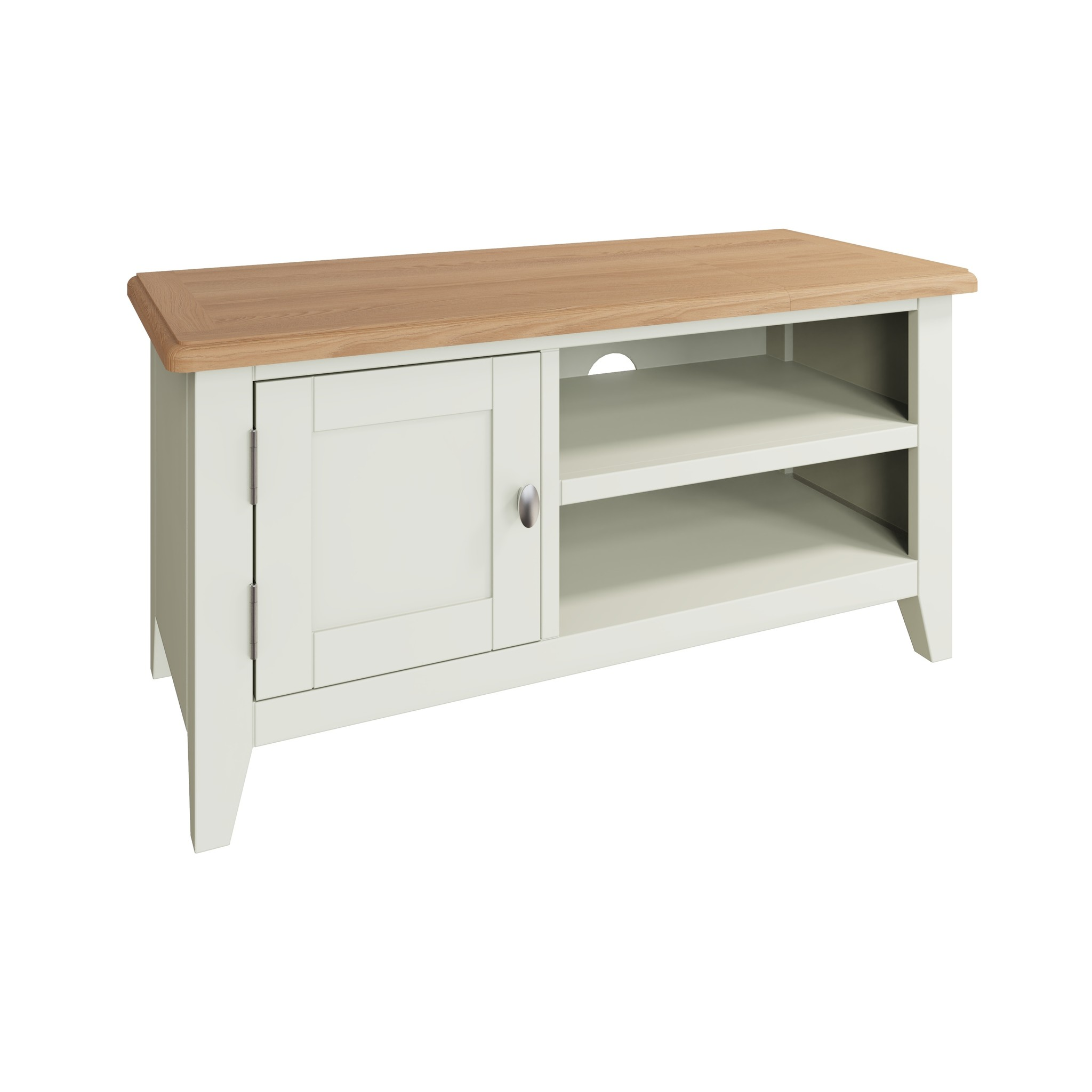 Essentials Painted TV Unit - White