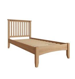 Essentials Light Oak Single Bed