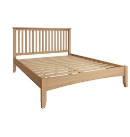 Essentials Light Oak King Size Bed