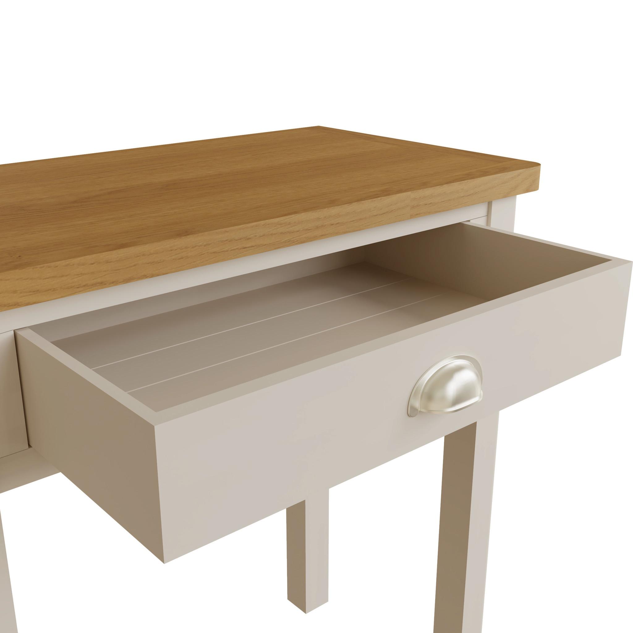 Essentials Dove Grey Dressing Table