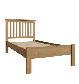 Essentials Rustic Oak Single Bed