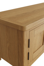 Essentials Rustic Oak Large TV Unit