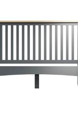 Essentials Grey Double Bed