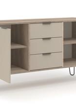 Augusta Driftwood medium sideboard with 2 doors, 3 drawers
