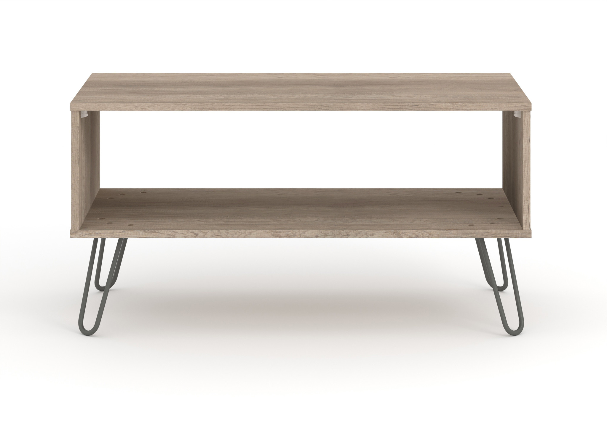 Augusta Driftwood open coffee table