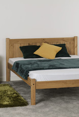 Seconique Maya Double Bed - Distressed Waxed Pine