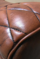 Besp-Oak 2 Seater Pommel Horse Leather Bench