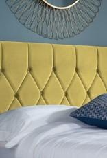 Birlea Loxley Mustard Ottoman Bed - Small Double