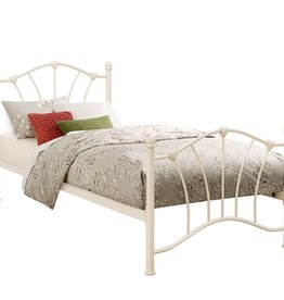 Birlea Sophia Single Bed - Pink & Cream