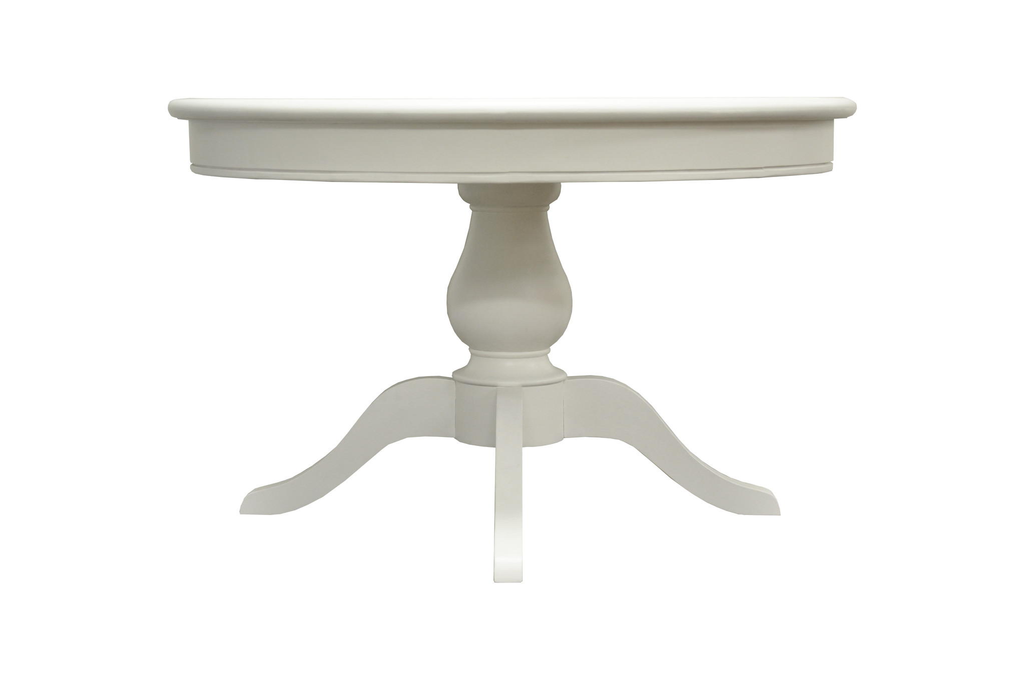 Essentials Wicker Shabby Chic Round Dining Table