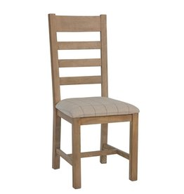Signature Upholstered Ladder Back Chair