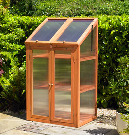Kingfisher Wooden Cold Frame Greenhouse
