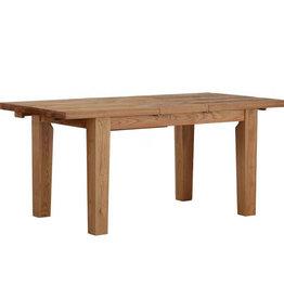 Besp-Oak Vancouver Sawn Oak Extending Dining Table