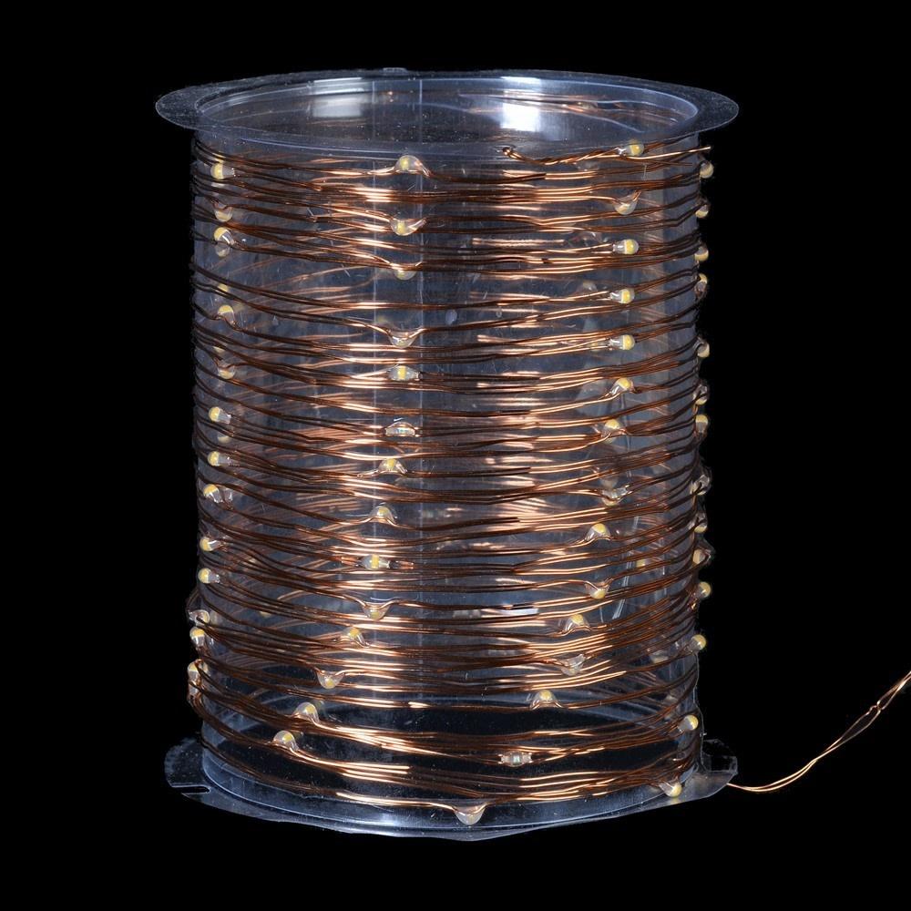 990 cm Copper Wire 100 Lights