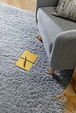 Flair Rugs Brilliance Sparks Grey Plain Rug - 160 x 230 cm