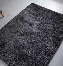 Flair Rugs Velvet Charcoal Rug - 120 x 170 cm