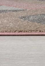 Flair Rugs Aurora Dusky Pink Rug - 120 x 170 cm