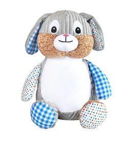 Lucalina Schmusi´s Schmusi - harlequin rabbit blue, app. 30 cm