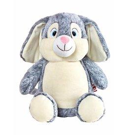 Lucalina Schmusi´s Schmusi - Rabbit grey, app. 30 cm