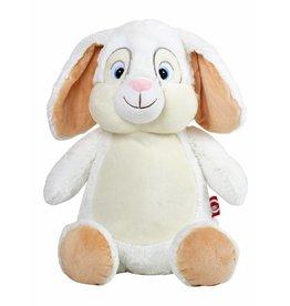 Lucalina Schmusi´s Schmusi - Rabbit white, app. 30 cm