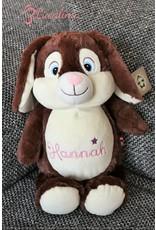 Lucalina Schmusi´s Schmusi - Rabbit brown, app. 30 cm