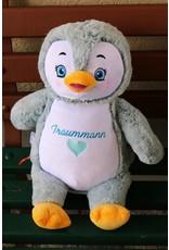Lucalina Schmusi´s Schmusi - Penguin light blue, app. 30 cm