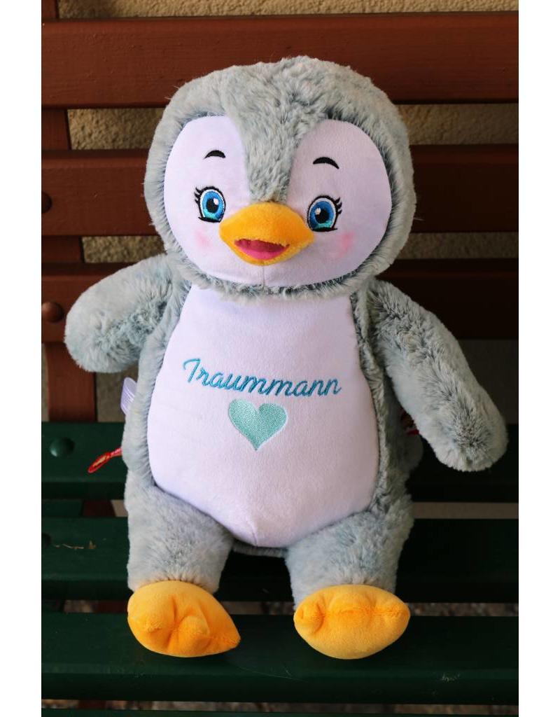 Lucalina Schmusi´s Schmusi - Pinguin hellblau