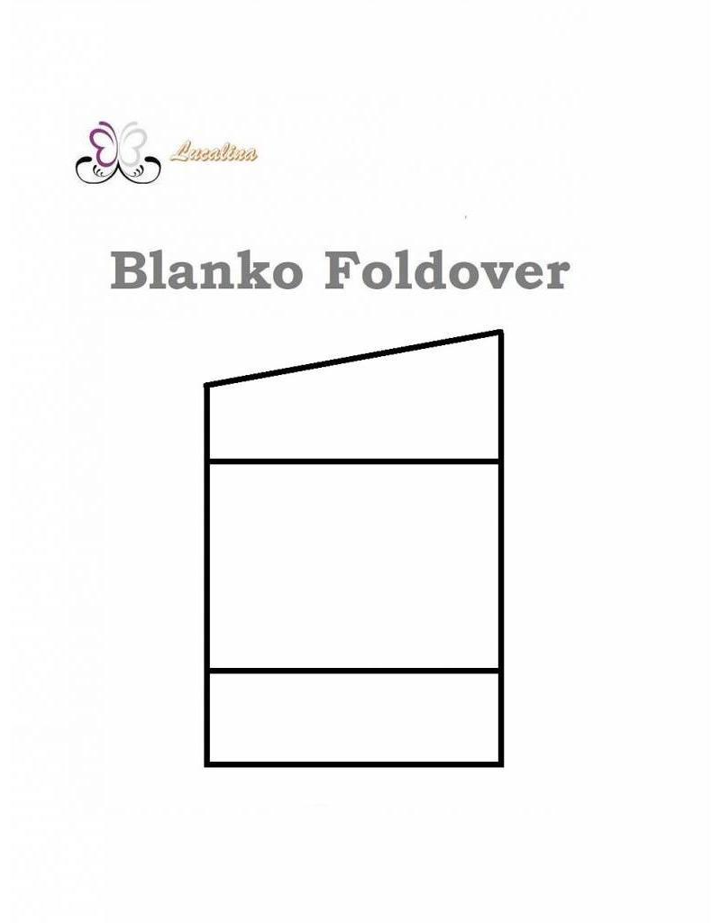 Foldover Foldover * Blank * personalized