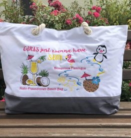 "Shopper ""Nicht-Freundinnen-Beach-Bag"""