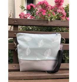 Canvas Canvas - Tasche Blätter dusty mint