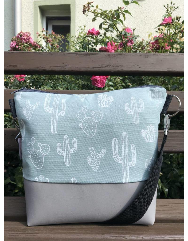 Canvas Canvas - Tasche Kaktus mint