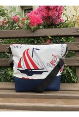 Canvas Big Canvas - Tasche Segelschiff