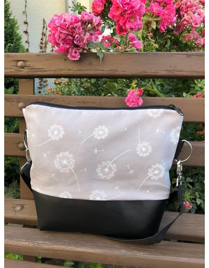 Canvas Big Canvas - Tasche Pusteblume grau