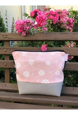 Canvas Big Canvas - Tasche Pusteblume rosa