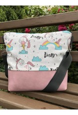 Canvas Canvas - Tasche Dream-Einhorn rose