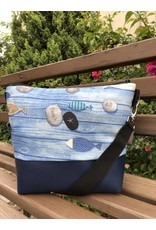 Canvas Big Canvas - Tasche Beach dunkelblau