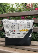 Canvas Big Canvas - Tasche New York schwarz